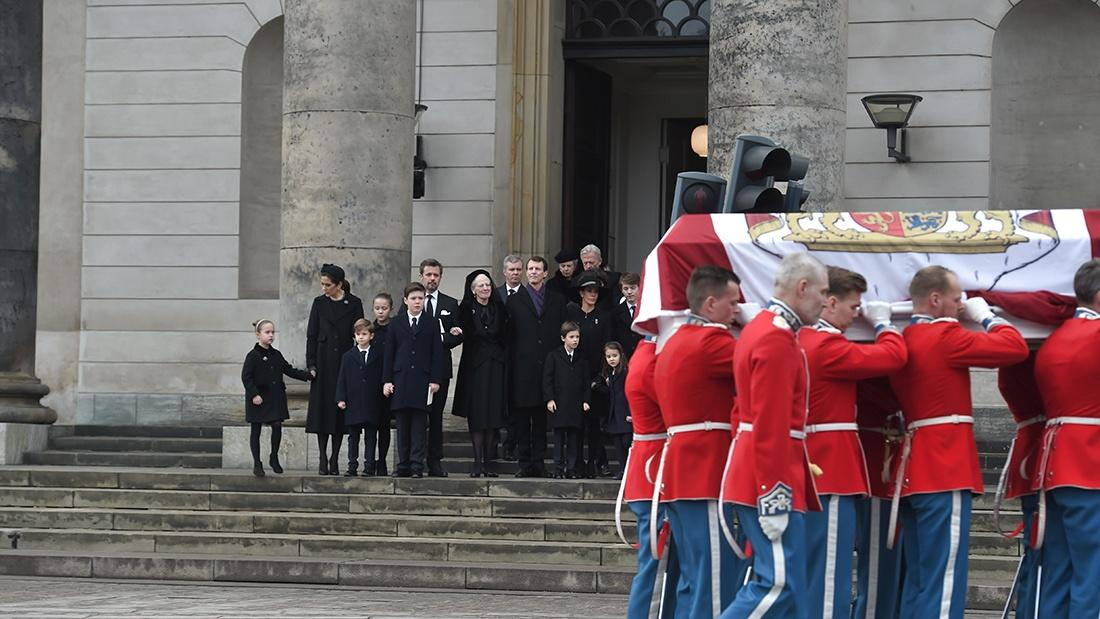 Danish Royals Funeral of Prince Henrik