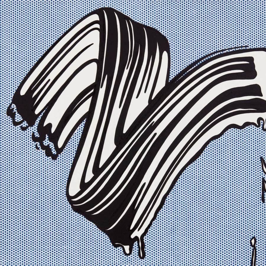 Lichtenstein Brushstroke to Sell For $30 Million At Sotheby's NY