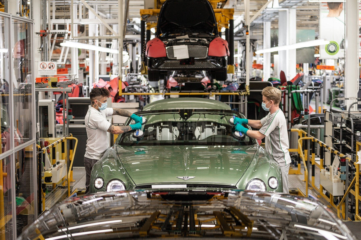 Bentley Commits To 'Come Back Stronger' - Changes To Luxury Car Production