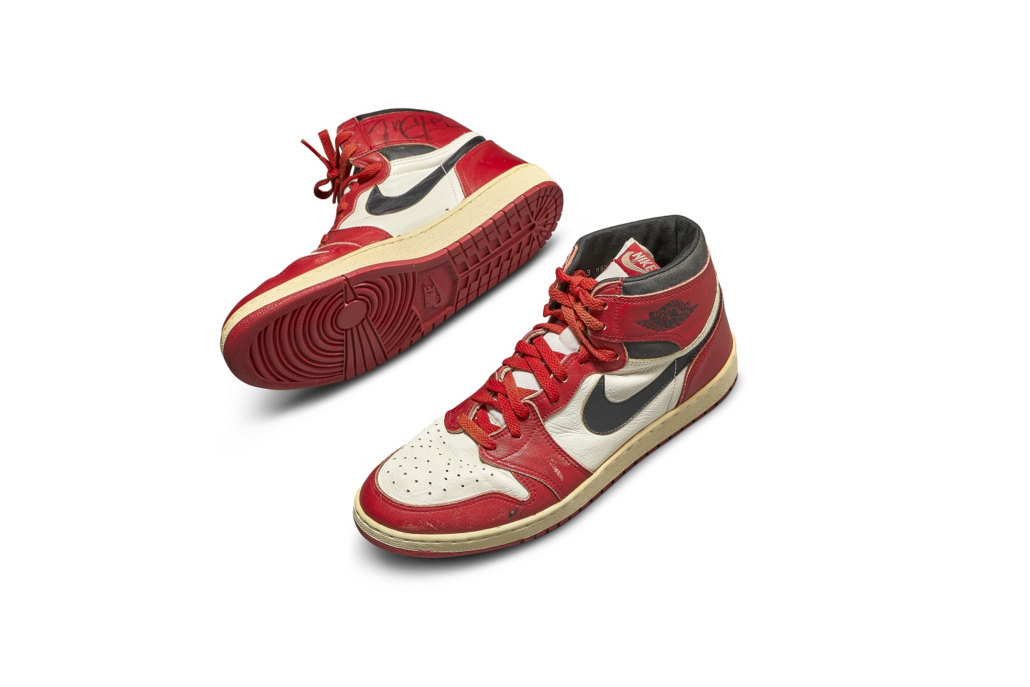 Sotheby's Record: $560,000 Michael Jordan's Game-Worn Air Jordan 1s
