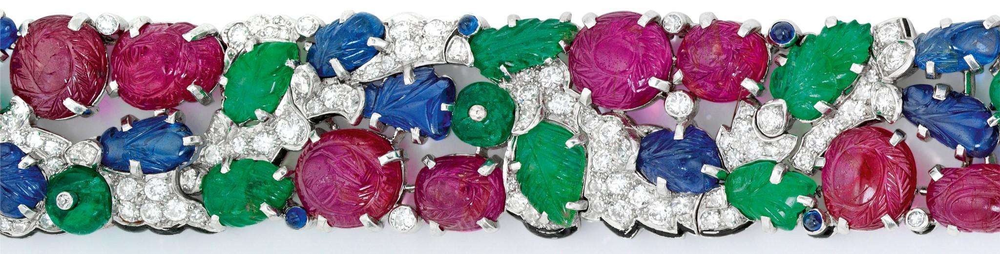 Art Deco Cartier Bracelet Sells For $1.34 Million At Sotheby's