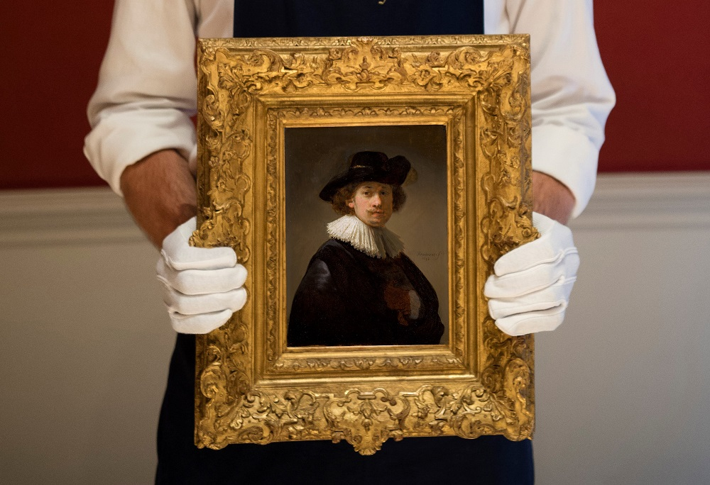 Sotheby's: One of the Last Self-Portraits by Rembrandt To Sell for £16