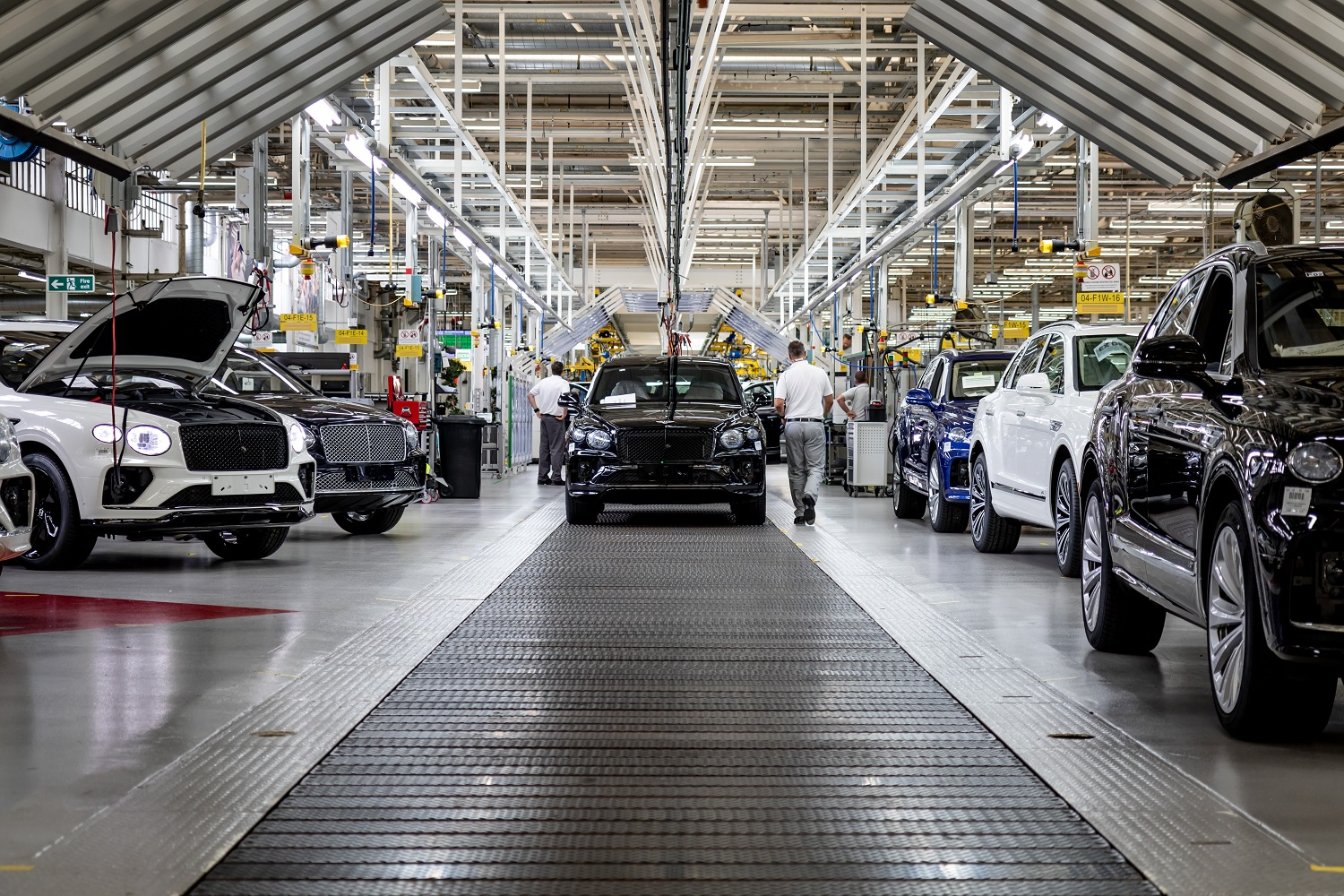 Production Of Bentley's New Bentayga Now Underway
