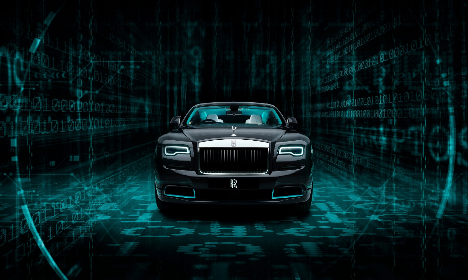 Rolls-Royce Wraith Kryptos Collection A Labyrinth Of Complex Ciphers