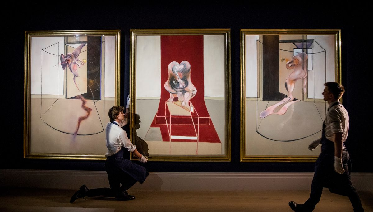 Francis Bacon Triptych Sells for $85 Million
