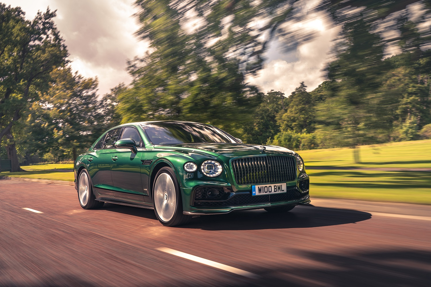 The New Styling Specification For The Bentley Flying Spur