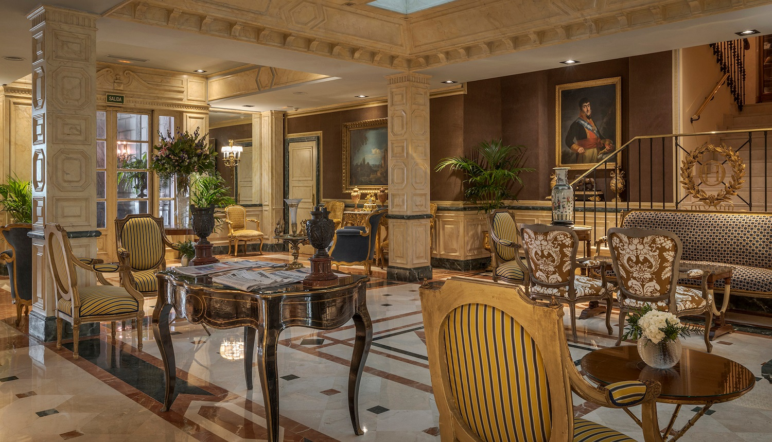 The Relais & Chateaux Orfila Hotel In Madrid