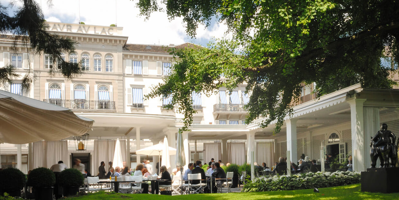 Baur Au Lac Hotel in Zurich