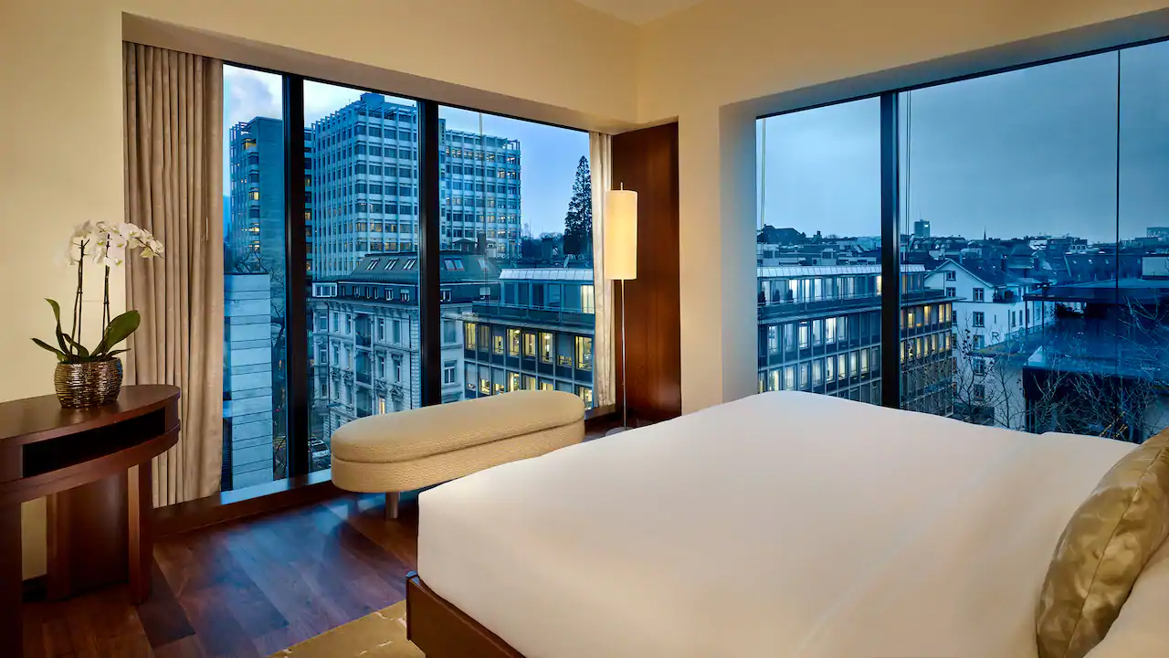 Contemporary Elegance At The Park Hyatt Zurich