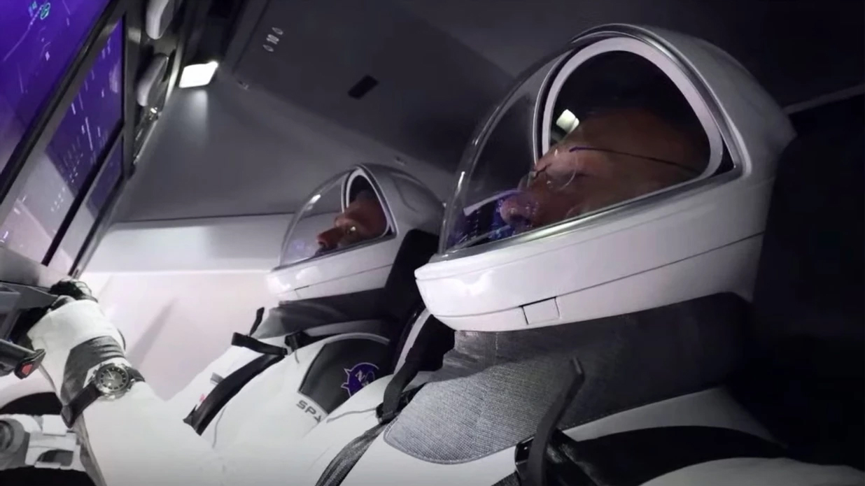 An Omega X-33 On-Board The SpaceX Falcon 9!