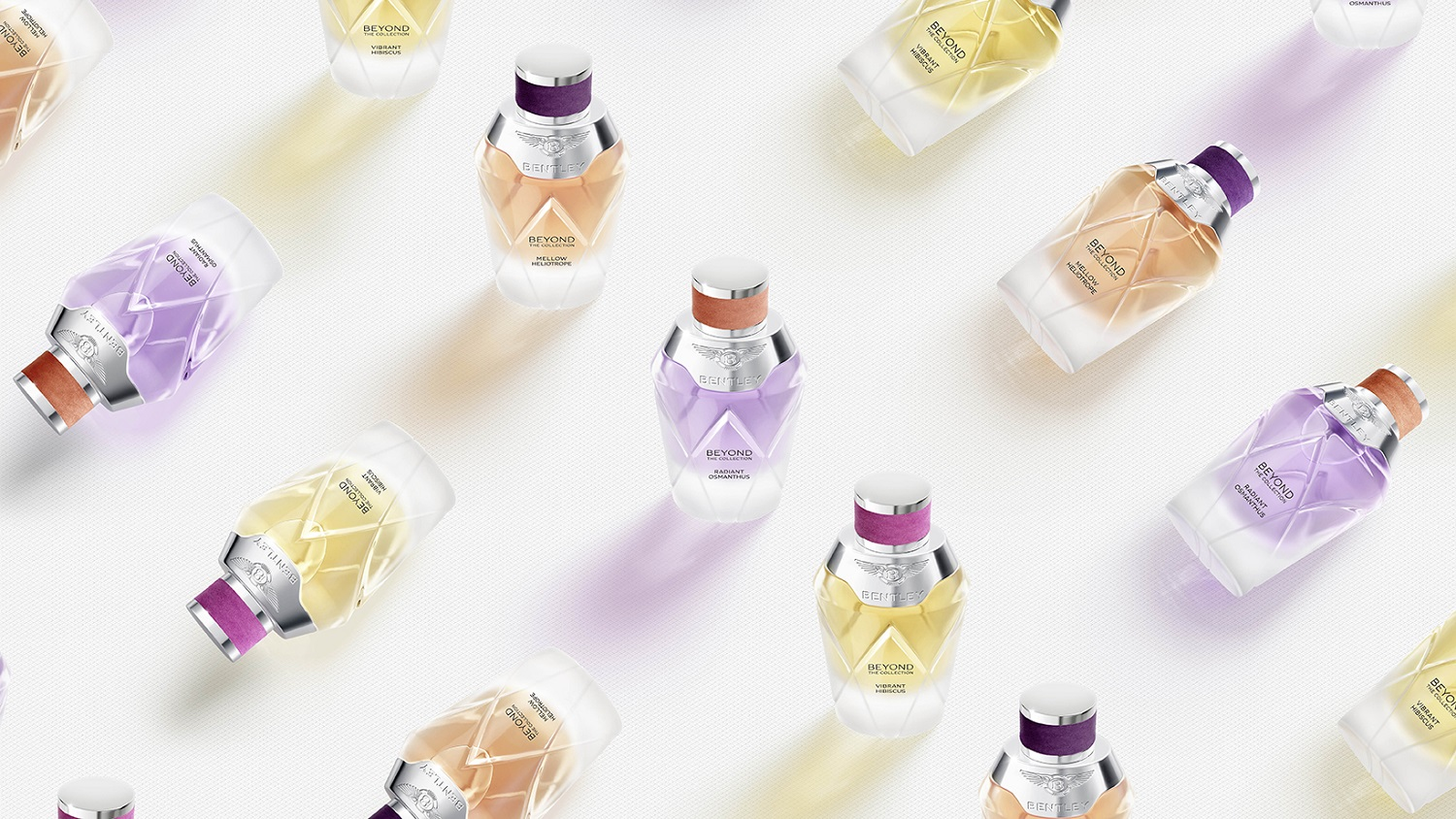 Three New Floral Scents From Bentley Beyond In The First Collection For Her