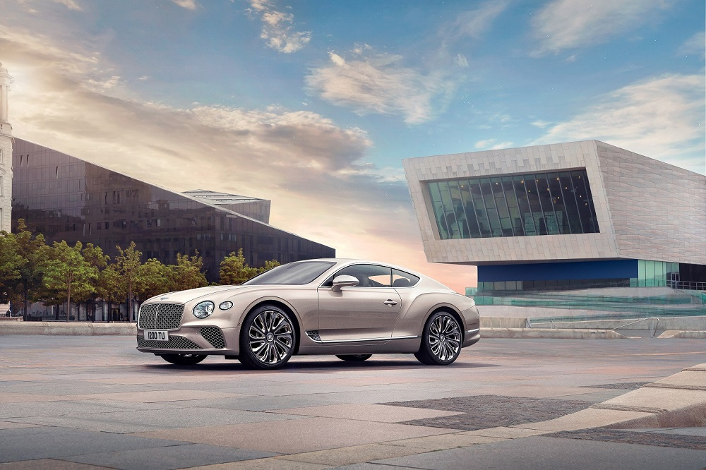 Salon Privé Debut Of The New Bentley Continental GT Mulliner Coupé