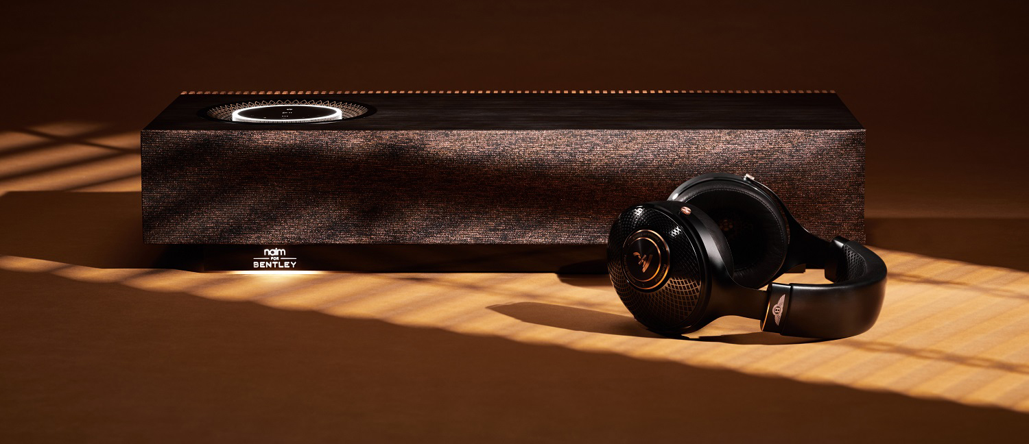 Naim Mu-so For Bentley Special Edition Headphones