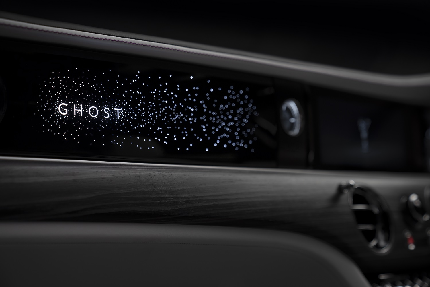 Rolls-Royce Bespoke Collective Reveal Illuminated Fascia