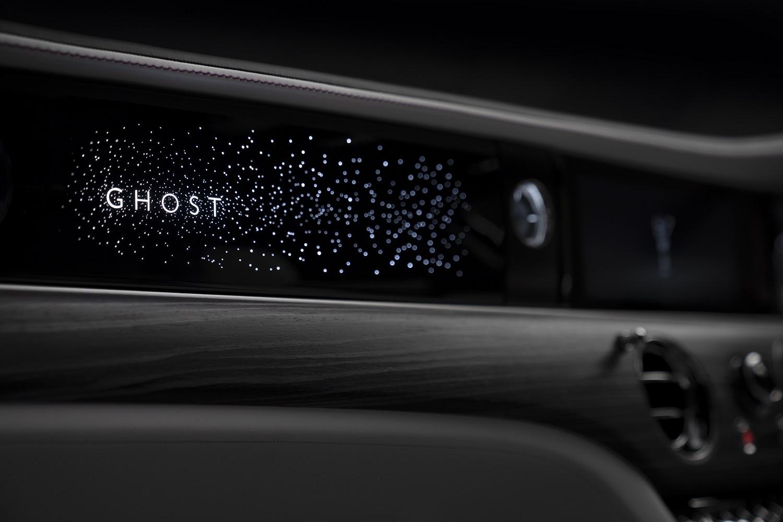 Rolls-Royce Bespoke Collective Reveal Illuminated Fascia