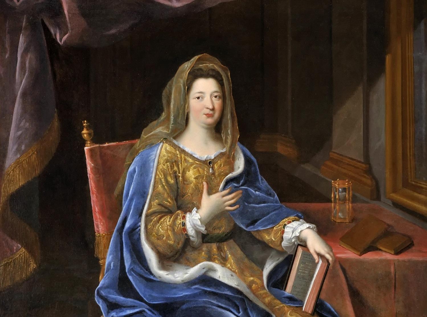 Françoise d'Aubigné, marquise de Maintenon by Pierre Mignard