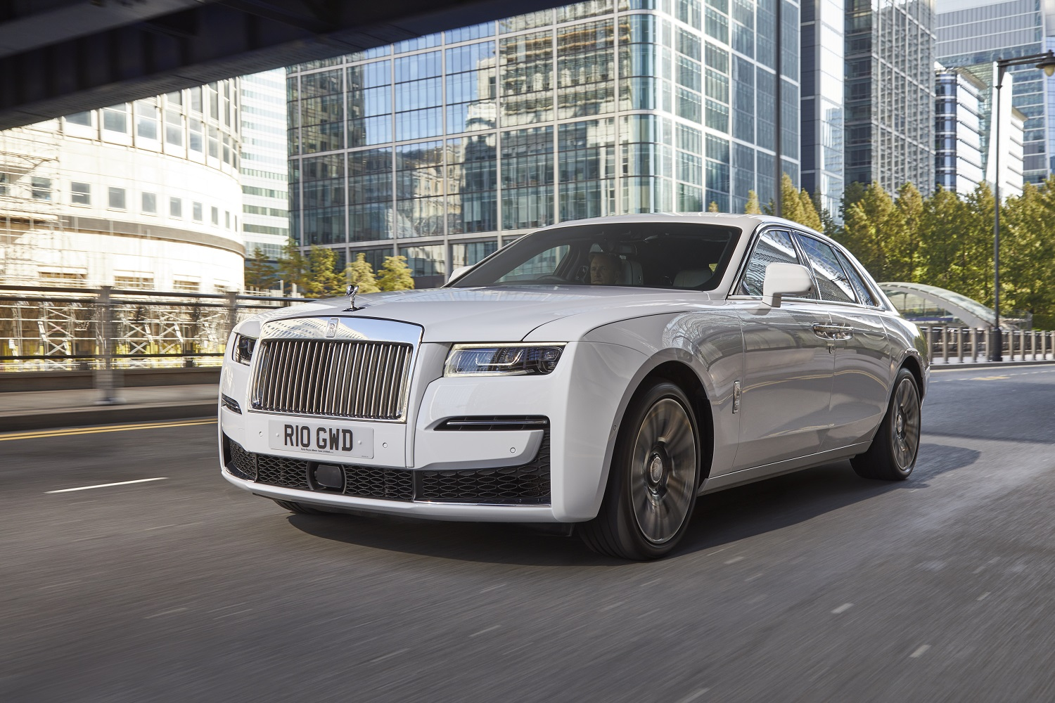 The New Rolls-Royce Ghost Arrives In United Kingdom Showrooms