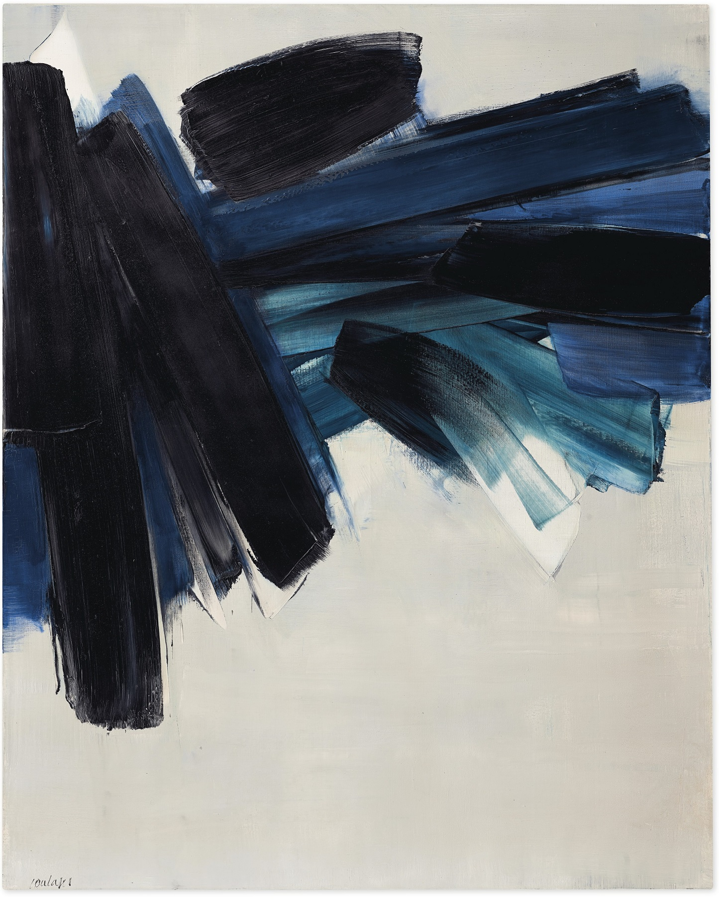 Pierre Soulages Work Offered In Paris Avant-Garde Sale At €8 Million