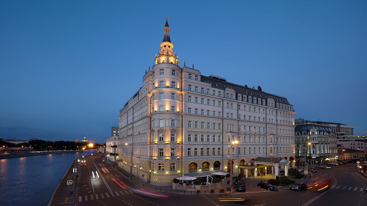 The Baltschug Kempinski Hotel in Moscow