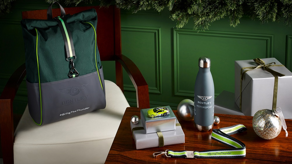 Bentley Collection Gifts To Delight Friends And Loved Ones Of All Ages | Ready for the racetrack