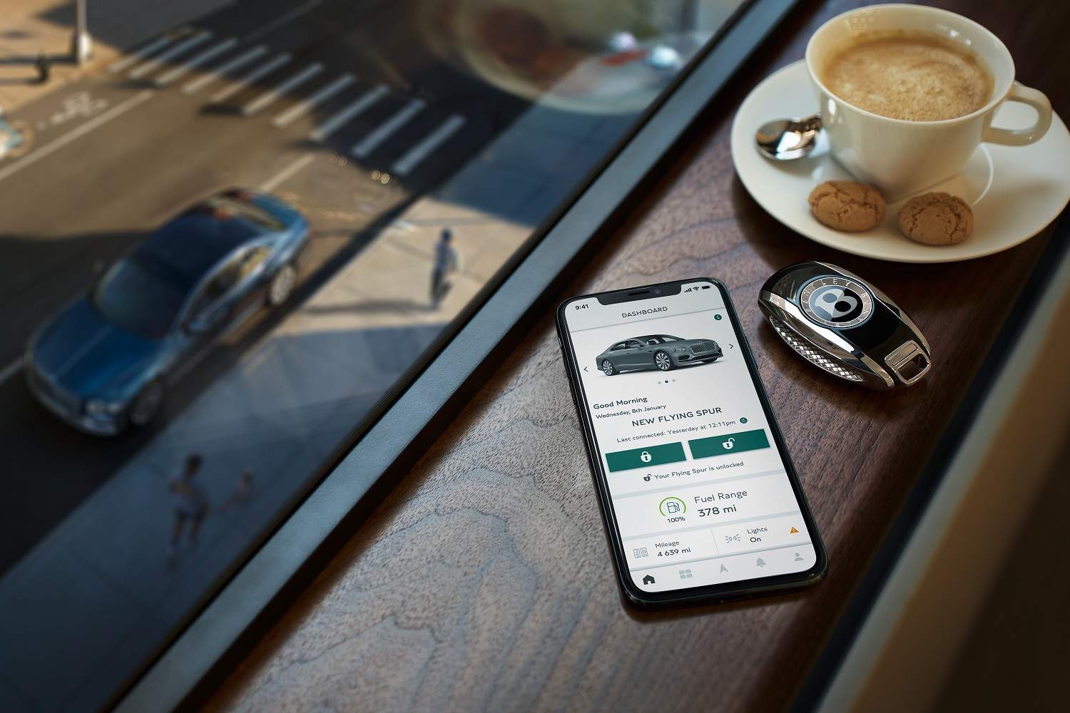 My Bentley: The Digitally Connected Grand Tourer
