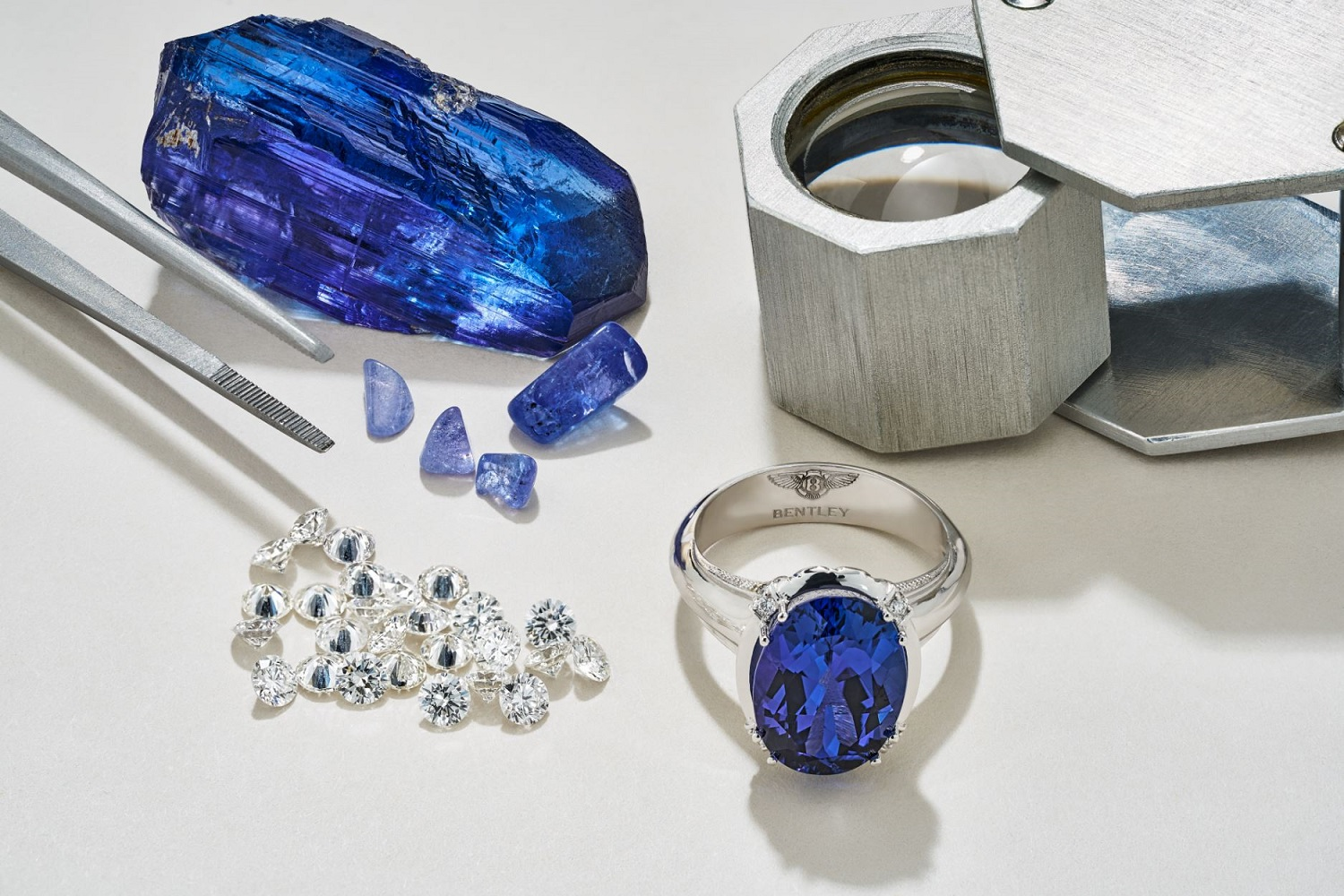 Rare Gemstones Bring Colour To Bentley's Luxury Jewellery Collection