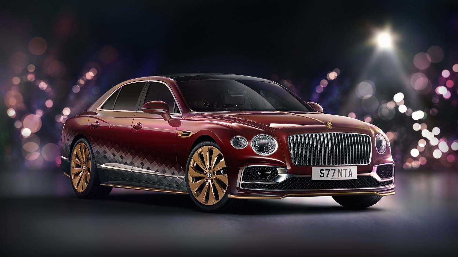 "Bentley Sleighs The Competition With Christmas Themed ""The Reindeer Eight"""