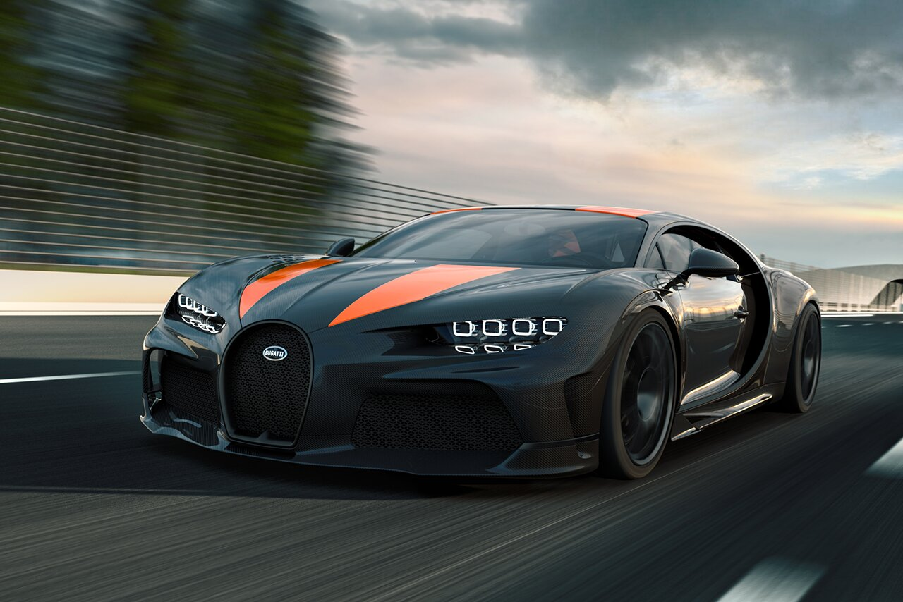 What Is The Fastest Car in the World That is Street Legal? | 1. Bugatti Chiron Super Sport – 304.7mph