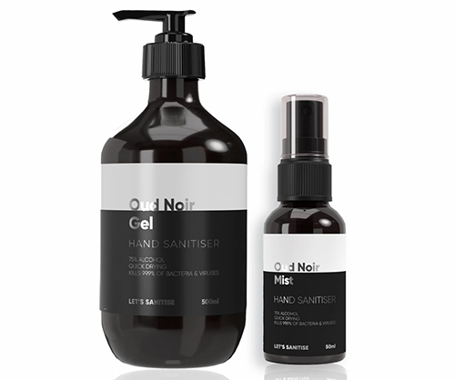 Our Ultimate Last Minute Christmas Gift Guide | Oud Noir Set, Lets Sanitise, £22.99