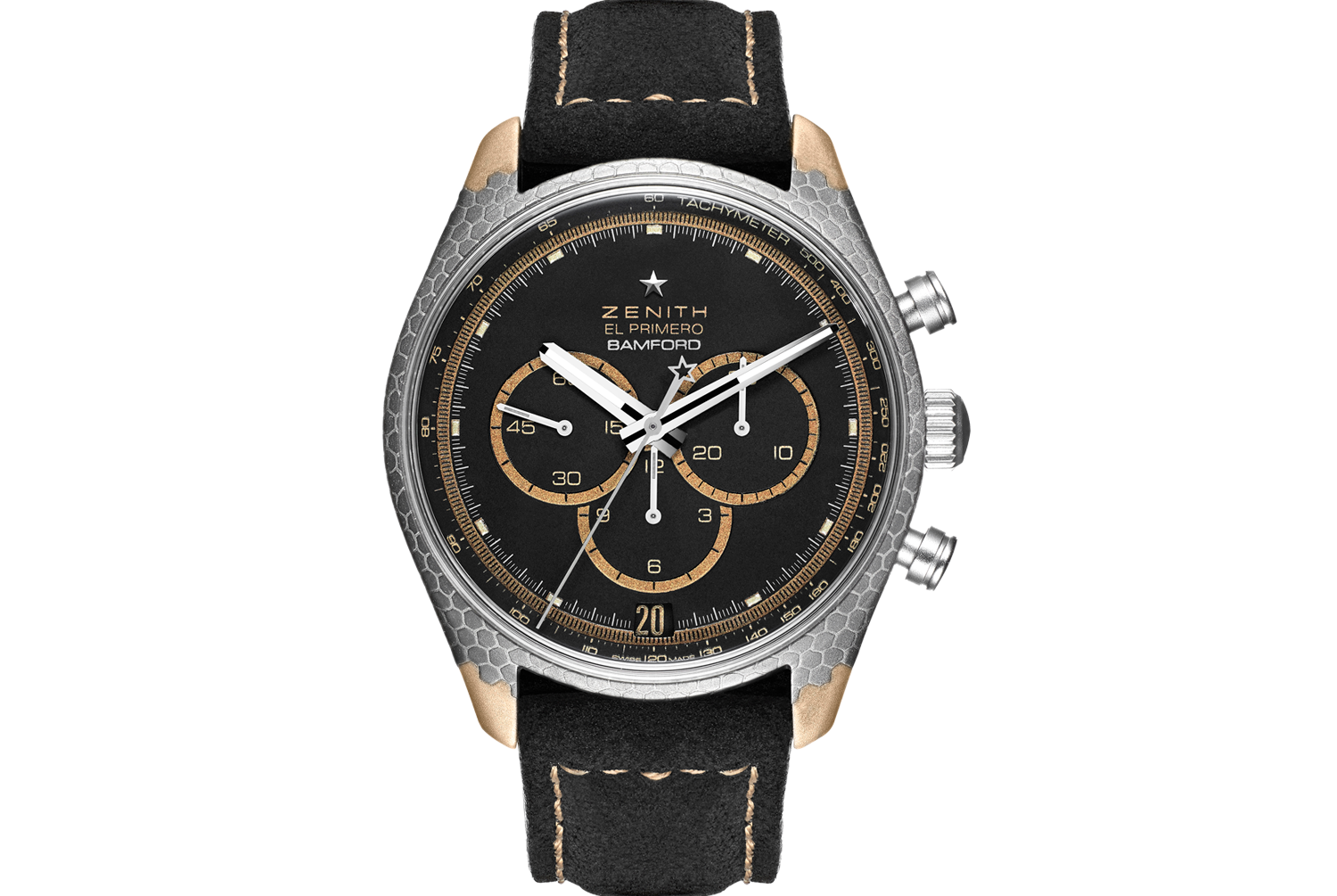 The Bamford Watch Department x Zenith x Black Badger Superconductor LE