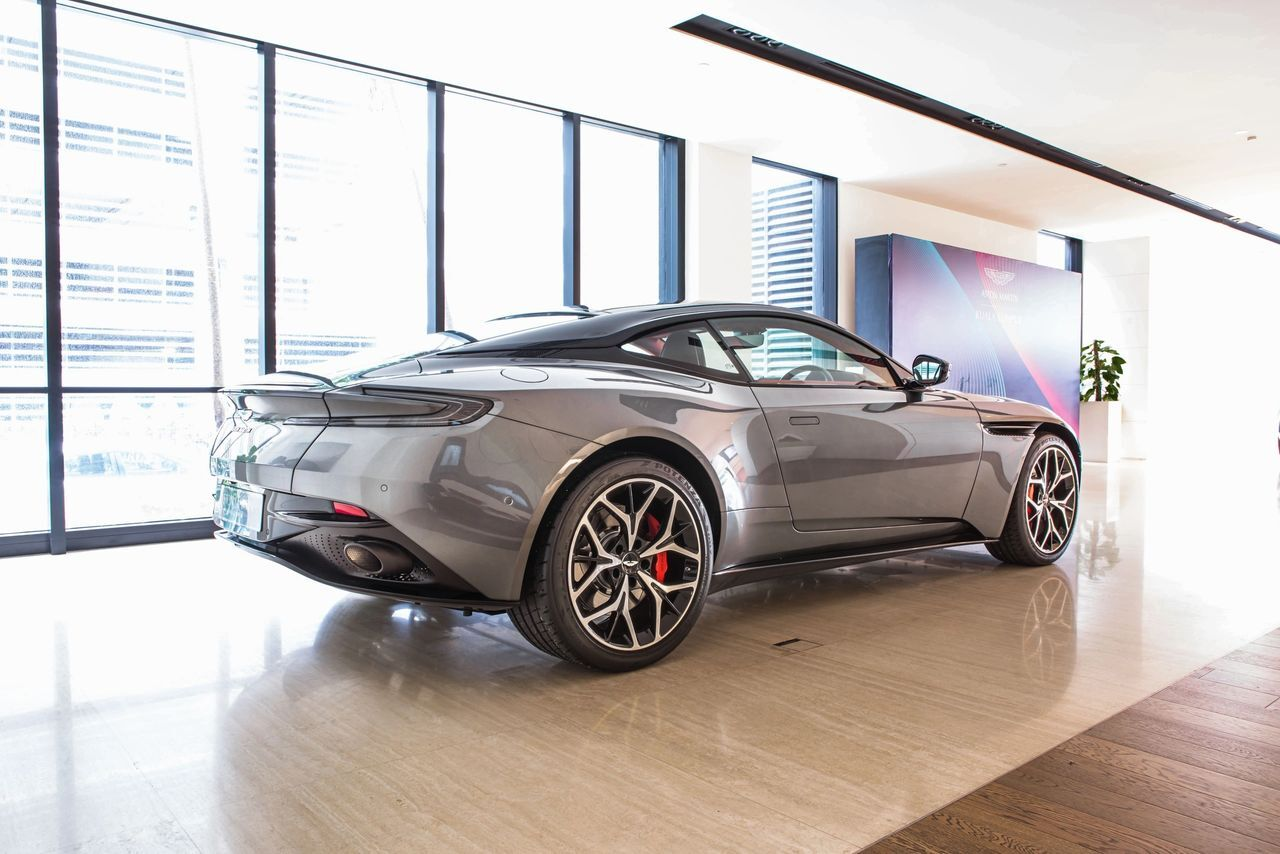 Aston Martin KL Presents The Iconic DB11 V8 Coupe
