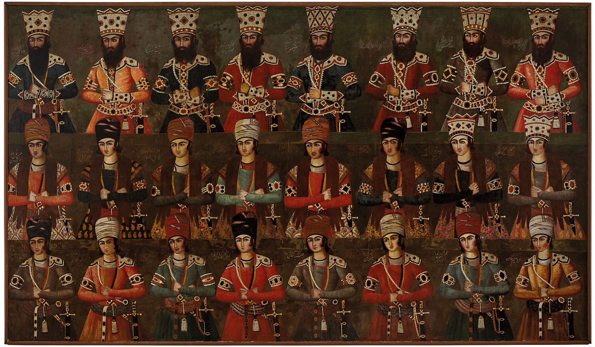Rediscover Qajar Painting To Be Sold By Christie's