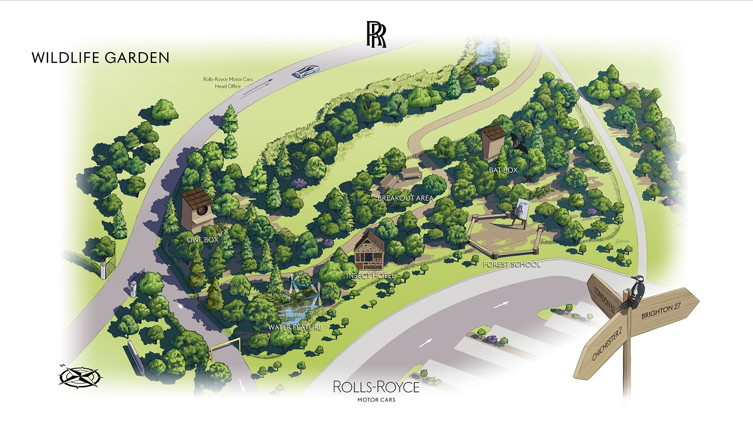 Bringing Nature To Life At The Home Of Rolls-Royce