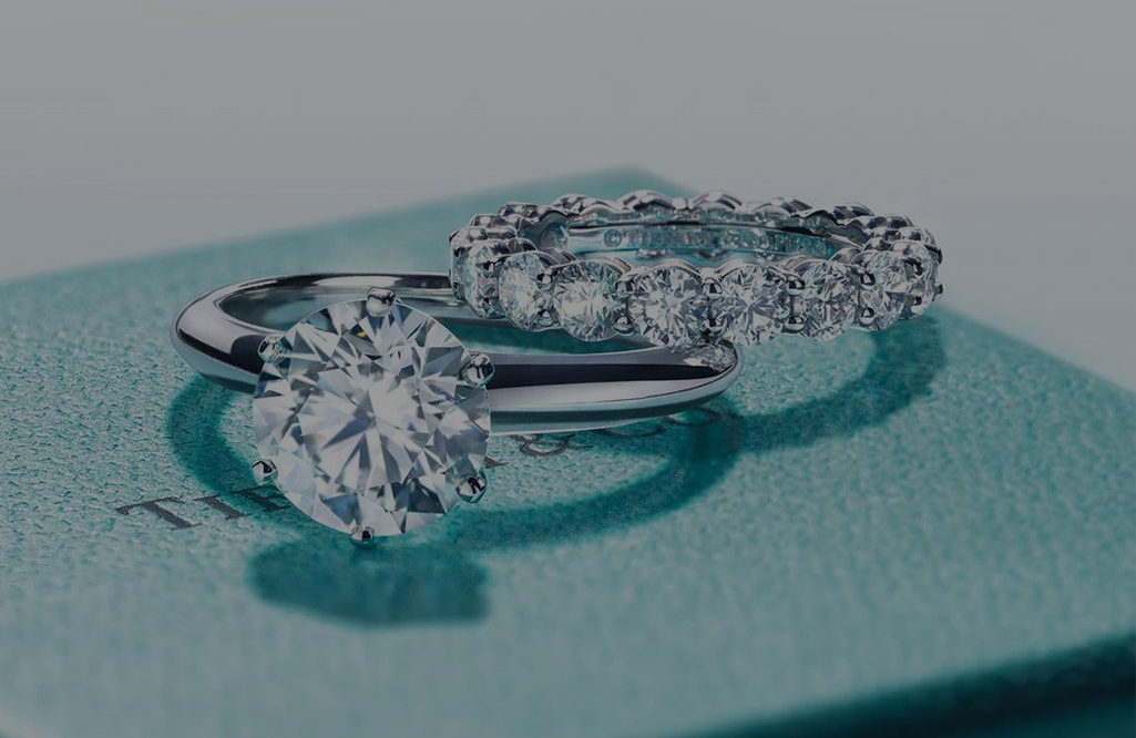 Matching Engagement Ring with Wedding Bands