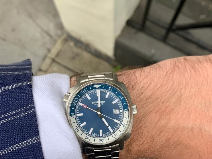 The Bamford Mayfair GMT