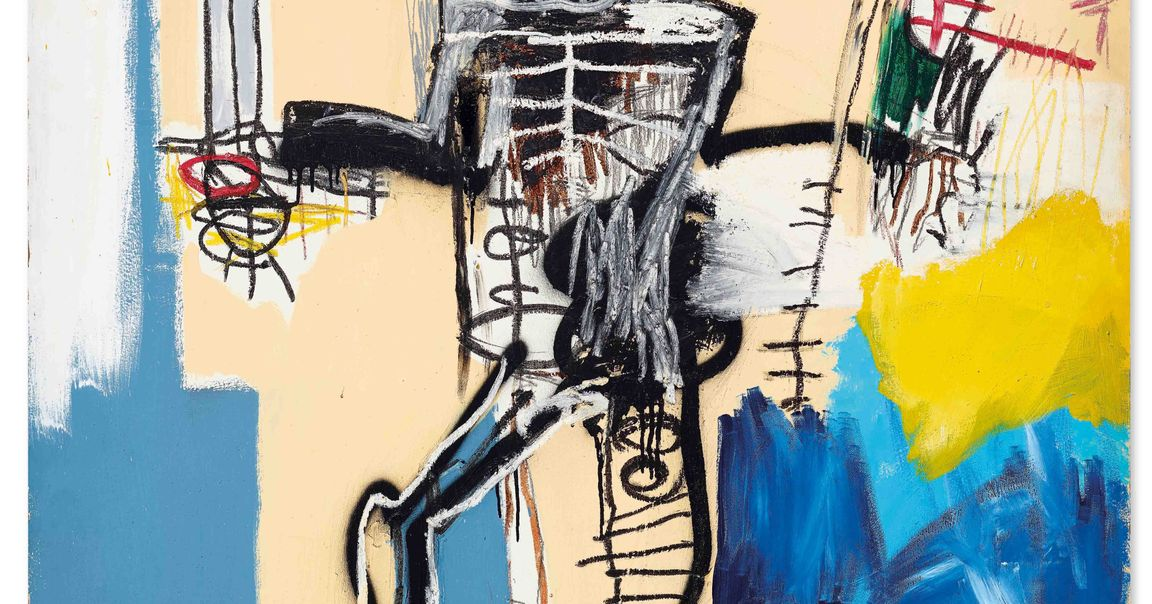 Jean-Michel Basquiat's Warrior Sells for £30.2 Million
