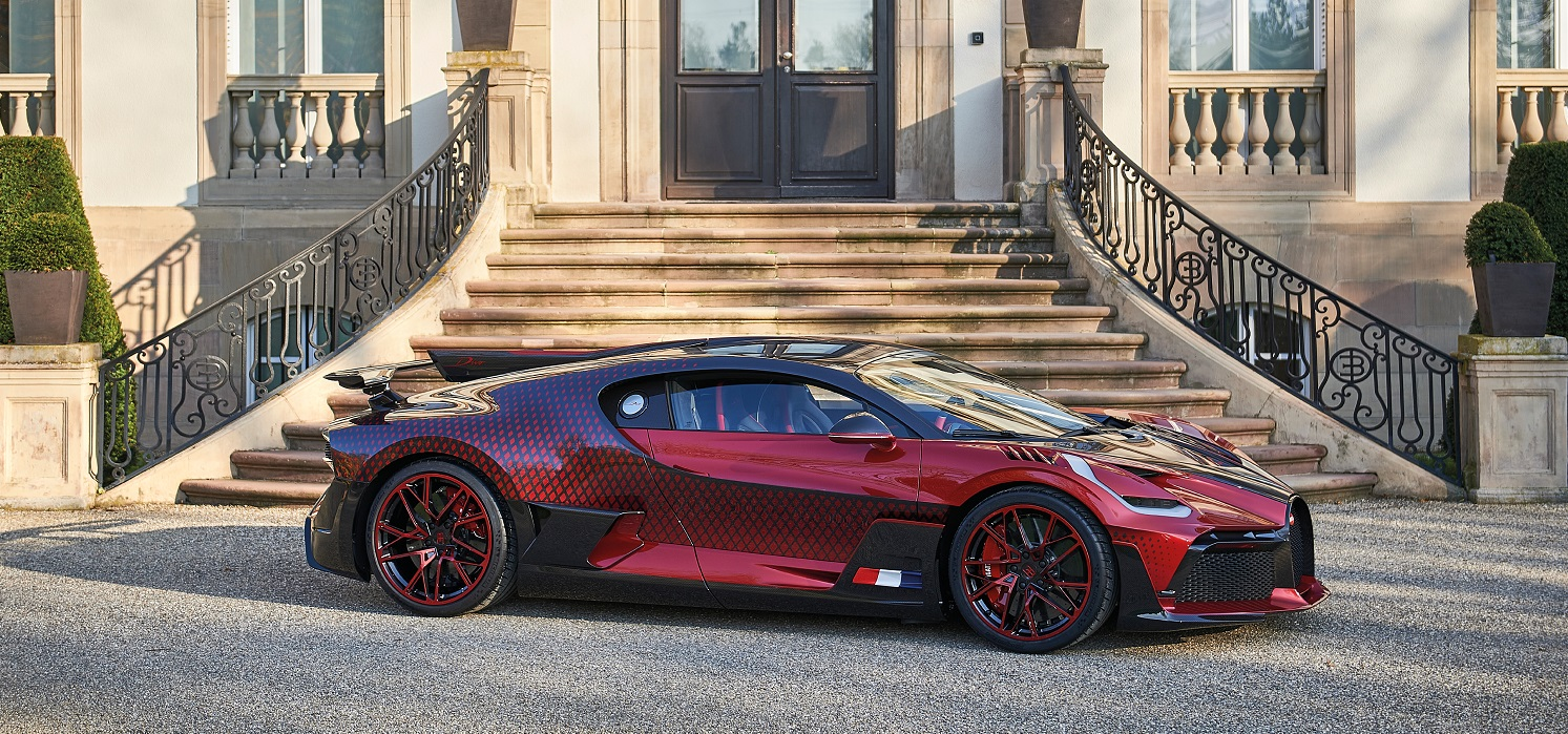 Bugatti Divo 'Lady Bug': A Masterclass In Customization And Creativity