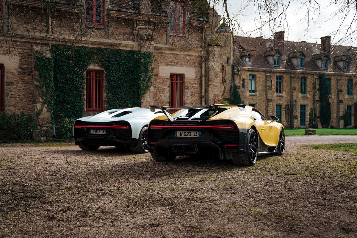 Bugatti Paris Test Drives – Out And About In Rambouillet And Surrounds