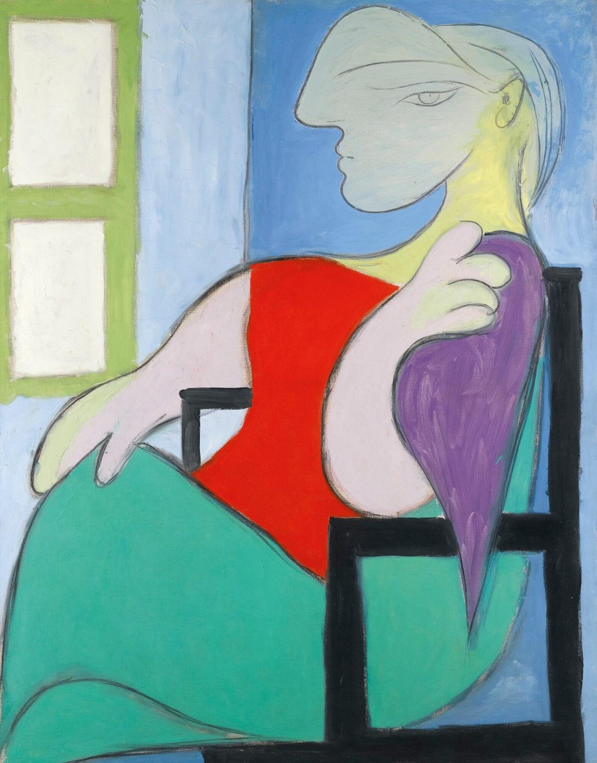 Picasso's Femme Assise Près D'une Fenêtre (Marie-Thérèse) To Sell For $55 Million