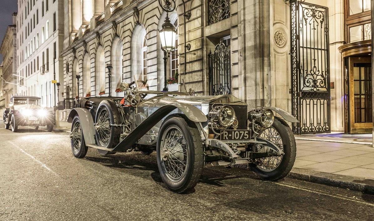Rolls-Royce Silver Ghost Re-Enacts Triumphant London-Edinburgh Run 110 Years On